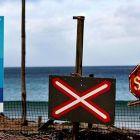 Предупреждение за акули